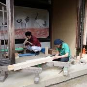 ④千光寺土台解体・修復